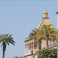 Palermo antiken Türen