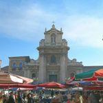 Historischen Märkte von Catania