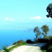 Eine touristische Stadt in Messina