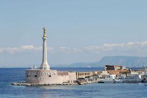 Messina die Festung von San Salvatore