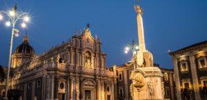 Touristische Reiseroute Catania