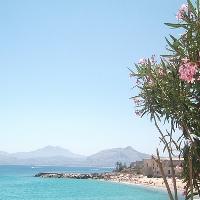 Strand Addaura von Palermo