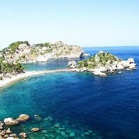 den Stränden der Isola Bella