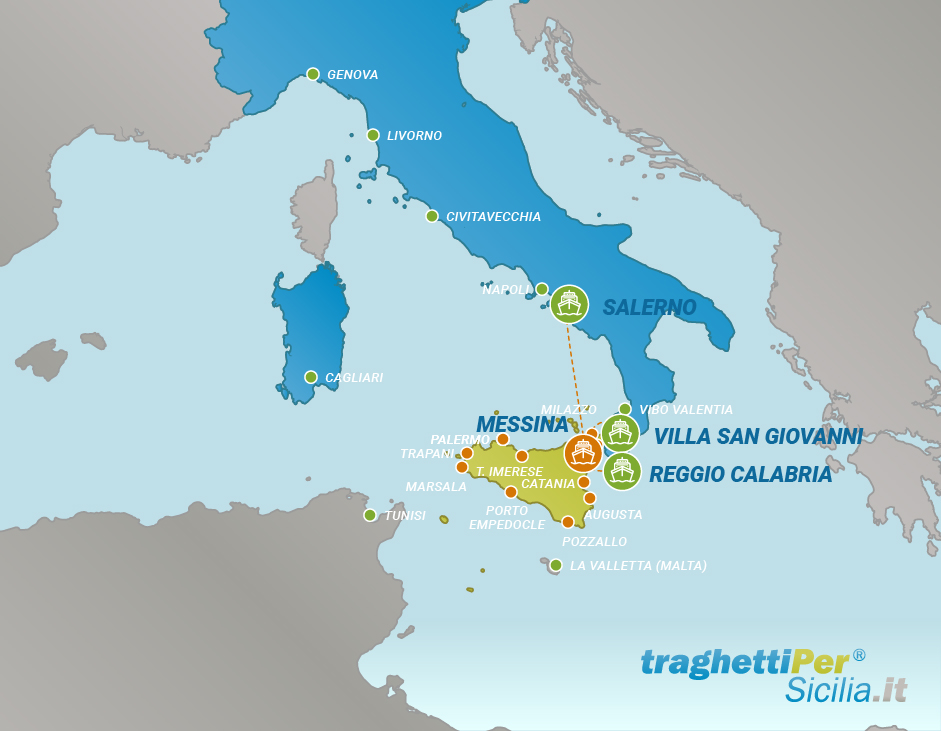 Hafen von Messina