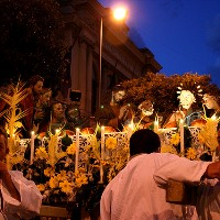 Messina, Barette procession 2015