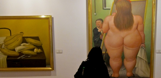 Botero exhibition 2015