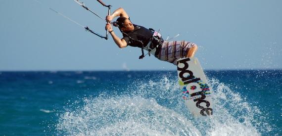 kitesurf in Sicily