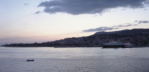 to Sicily by ferry