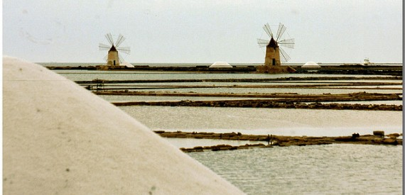 Thematic Itineraries Sicily salt roads