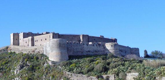 castles of Sicily: castello di Milazzo