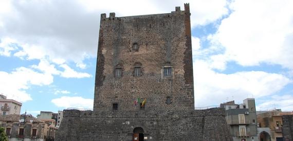 castles of Sicily: castello di Adrano