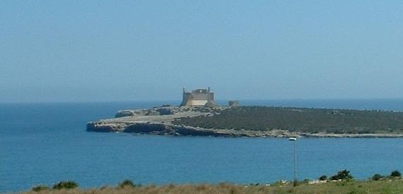 castles of Sicily: forte spagnolo di Portopalo