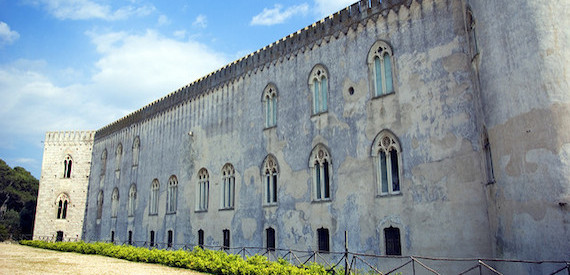 Castles of Sicily: the castle of Donnafugata