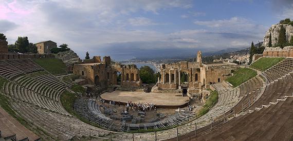 Taormina Greek theatre opening times