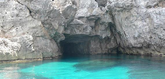Marettimo caves