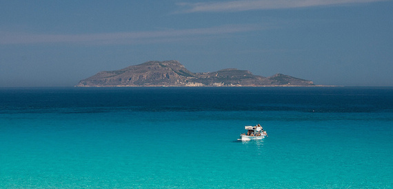 Levanzo beaches