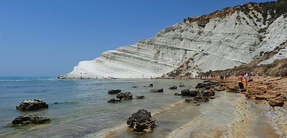Scala dei Turchi how to get there from Catania