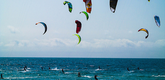 kitesurfing in Sicily: Messina