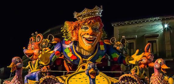 Carnival 2017 in Sicily: Acireale