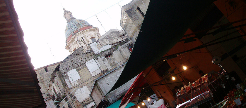 historical markets in Palermo