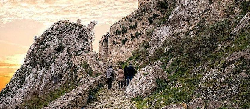 castels of central Sicily