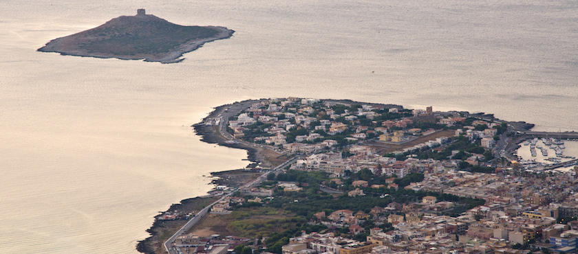 Isola delle Femmine: how to get there