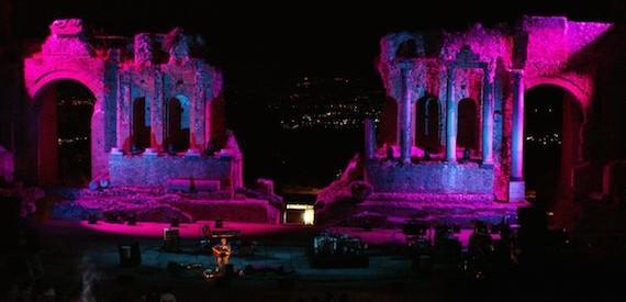 teatro greco Taormina concerti estate 2016