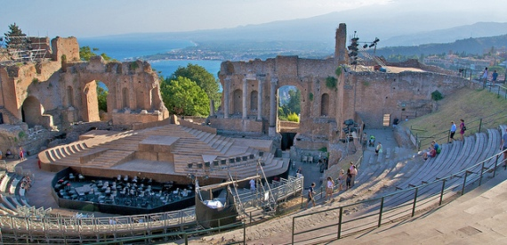 teatro greco di Taormina: i concerti del 2015