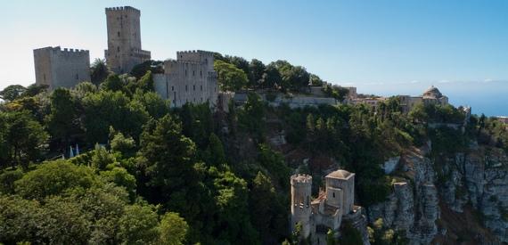 i castelli della Sicilia: Erice