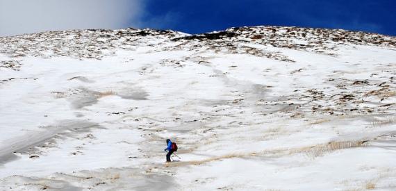 sciare sull'Etna