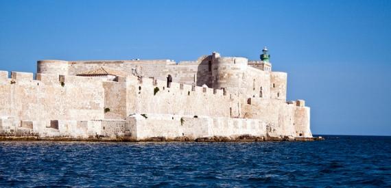 i castelli della Sicilia: il castello Maniace