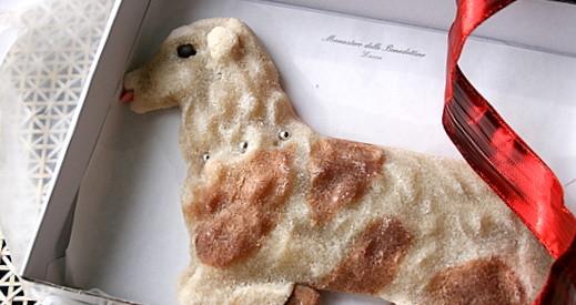 dolci siciliani: l'agnello pasquale