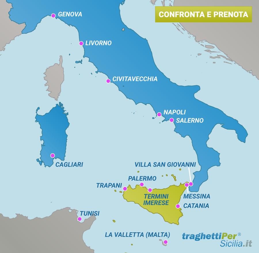 porti della Sicilia
