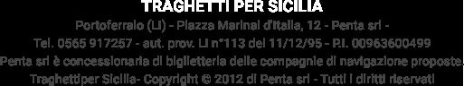 Network TraghettiPer - Traghetti per Sicilia